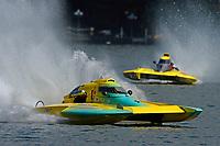"""Doug Havell, A-23 """"Geezerboat"""", Tyler Kaddatz, F-519 """"Ahh-Sum-Secret"""" (2.5 MOD class hydroplane(s)"""