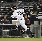 Ichiro Suzuki (Yankees),<br /> APRIL 16, 2014 - MLB : Ichiro Suzuki of the New York Yankees in action during the during the Major League Baseball interleague doubleheader game 2 at Yankee Stadium in the Bronx, NY, USA.<br /> (Photo by AFLO)