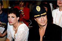Steven Segal &amp; wife, Kelly LeBrock 1992<br /> Photo By John Barrett-PHOTOlink.net / MediaPunch