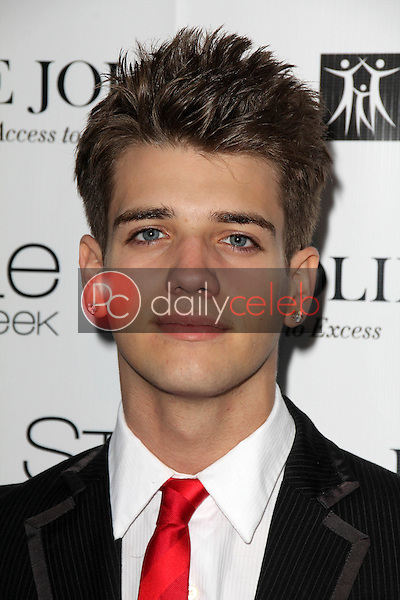 Brandon Tyler Russell<br /> at Sue Wong's 'Fairies and Sirens' Fashion Show at L.A. Fashion Week. The Reef, Los Angeles, CA 10-15-14<br /> David Edwards/Dailyceleb.com 818-249-4998