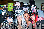5809-5813.Be afraid.Enjoying the Halloween fun in Gally's Bar/restaurant Castlemaine Rd Tralee last Saturday night were front L-R Sinead Moriarty,Peg Wickham,Trish Goodall and Myra O'Sullivan(back)L-R Peter Wickham,Joe Keane,John Moriarty and Vincent O'Sullivan.