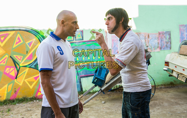 The Brothers Grimsby (2016)<br /> (Grimsby)  <br /> Mark Strong, Sacha Baron Cohen<br /> *Filmstill - Editorial Use Only*<br /> CAP/KFS<br /> Image supplied by Capital Pictures