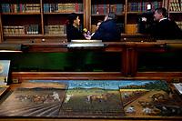 Roma, 6 Marzo 2019<br /> Segretaria di Cultura degli Stati Uniti Messicani, Dottoressa Alejandra Frausto Guerrero.<br /> Cerimonia di restituzione di 594 dipinti ex voto, illecitamente sottratti al patrimonio culturale messicano.