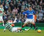 29.12.2019 Celtic v Rangers: Mikey Johnston and Ryan Jack