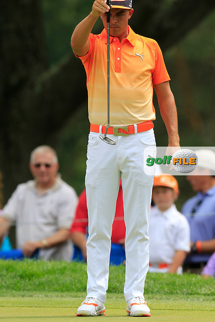 \{prsn}\ during Sunday's Final Round of the 2015 Bridgestone Invitational World Golf Championship held at the Firestone Country Club, Akron, Ohio, United States of America. 9/08/2015.<br /> Picture Eoin Clarke, www.golffile.ie