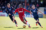 08.03.2020: Ross County v Rangers: Joe Aribo with Jordan Tilson and Don Cowie
