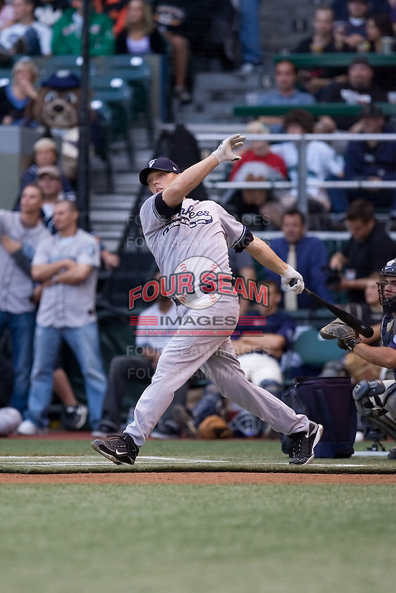 July 13, 2009: Scranton-Wilkes Barre Yankees' Shelley Duncan during the 2009 Triple-A All-Star Game Home Run Derby at PGE Park in Portland, Oregon.