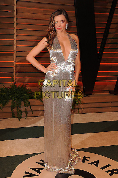 WEST HOLLYWOOD, CA - MARCH 2: Miranda Kerr arrives at the 2014 Vanity Fair Oscar Party in West Hollywood, California on March 2, 2014.  <br /> CAP/MPI/MPI213<br /> &copy;MPI213/MediaPunch/Capital Pictures