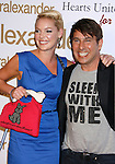 LOS ANGELES, CA. - October 22: Actress Katherine Heigl and designer Peter Alexander arrive at the Peter Alexander Flagship Boutique Grand Opening And Benefit on October 22, 2008 in Los Angeles, California.