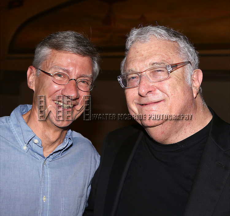 David Garrison and Randy Newman attend the after performance party for the New York City Center Encores! Off-Center production of 'Randy Newman's FAUST' - The Concert at City Center on July 1, 2014 in New York City.