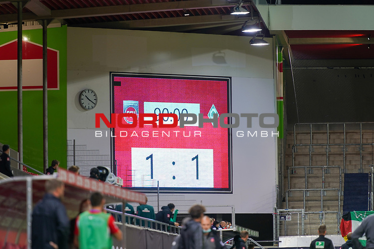 Feature 90 Minuten Anziegentfael 1:1<br /> <br /> <br /> Sport: nphgm001: Fussball: 1. Bundesliga: Saison 19/20: Relegation 02; 1.FC Heidenheim vs SV Werder Bremen - 06.07.2020<br /> <br /> Foto: gumzmedia/nordphoto/POOL <br /> <br /> DFL regulations prohibit any use of photographs as image sequences and/or quasi-video.<br /> EDITORIAL USE ONLY<br /> National and international News-Agencies OUT.