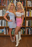 CORAL GABLES, FL - APRIL 10: Gigi Gorgeous (L) and Linsey Donovan (R) poses for picture after a Q&A and book signing to Promotes Her New Book 'He Said, She Said: Lessons, Stories, and Mistakes from My Transgender Journey' at Books and Books on April 10, 2019 in Coral Gables, Florida. ( Photo by Johnny Louis / jlnphotography.com )