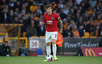 Victor Lindelöf of Man Utd during the Premier League match between Wolverhampton Wanderers and Manchester United at Molineux, Wolverhampton, England on 19 August 2019. Photo by Andy Rowland.