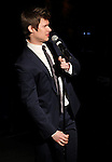 Lucas Steele performing in 'The Concert - A Celebration of Contemporary Musical Theatre' at The Second StageTheatre in New York City on 1/21/2013