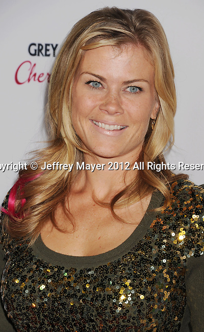 HOLLYWOOD, CA - DECEMBER 10: Alison Sweeney arrives at the 'The Impossible' - Los Angeles Premiere at ArcLight Cinemas Cinerama Dome on December 10, 2012 in Hollywood, California.