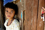 A girl in Bantacan, Mindanao..