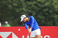 Danielle Kang (USA) in action on the 9th during Round 4 of the HSBC Womens Champions 2018 at Sentosa Golf Club on the Sunday 4th March 2018.<br /> Picture:  Thos Caffrey / www.golffile.ie<br /> <br /> All photo usage must carry mandatory copyright credit (&copy; Golffile | Thos Caffrey)