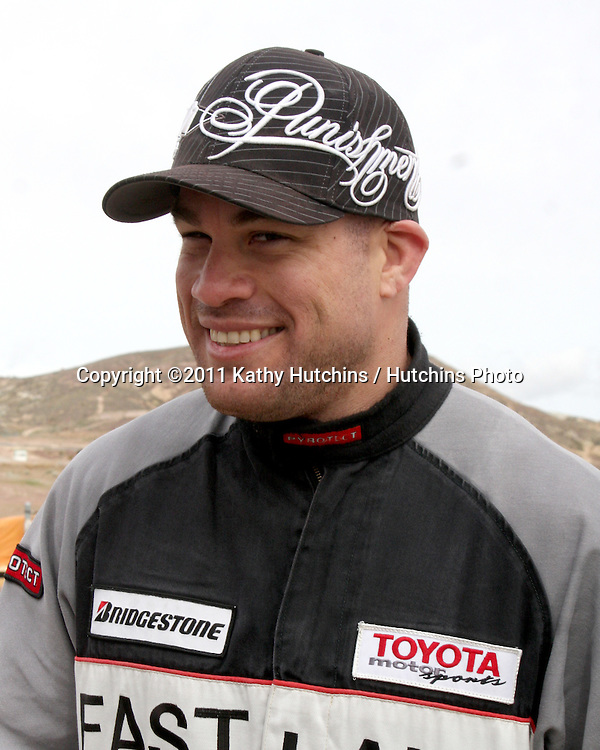 LOS ANGELES - MAR 19:  Tito Ortiz at the Toyota Pro/Celebrity Race Training Session at Willow Springs Speedway on March 19, 2011 in Rosamond, CA
