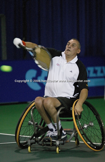 18-11-06,Amsterdam, Tennis, Wheelchair Masters, Peter Norfolk