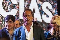 BUENOS AIRES, ARGENTINA, 22.11.2015 - ELEIÇÕES-ARGENTINA - Daniel Scioli (FPV) candidato derrotado nas eleições presidenciais da Argentina reconhece derrota para Mauricio Macri em Buenos Aires na Argentina na noite deste domingo, 22. (Foto: Patricio Murphy / Brazil Photo Press)