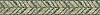 """6"""" Palm Frond border, a natural stone hand chopped tumbled mosaic shown in Chartreuse, Verde Alpi, is part of the Metamorphosis Collection by New Ravenna."""
