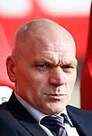 Nederland, Utrecht, 23 februari 2014<br /> Eredivisie<br /> Seizoen 2013-2014<br /> FC Utrecht-FC Groningen<br /> Jan Wouters, trainer-coach van FC Utrecht.