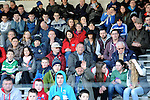 30-11-2014: Fans in Fitzgerald Stadium during the Legion V  Rathmore East Kerry final in Kilarney on Sunday.<br /> Picture by Don MacMonagle