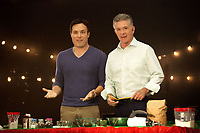 A Cookie Cutter Christmas (2014)<br /> Alan Thicke &amp; David Haydn-jones<br /> *Filmstill - Editorial Use Only*<br /> CAP/KFS<br /> Image supplied by Capital Pictures