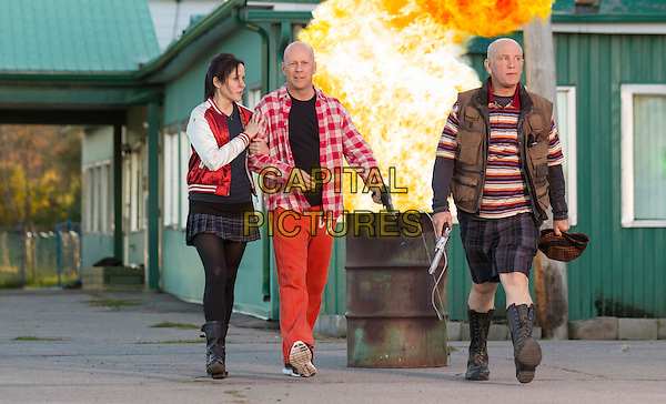 Mary-Louise Parker, Bruce Willis, John Malkovich<br /> in RED 2 (2013) <br /> *Filmstill - Editorial Use Only*<br /> CAP/NFS<br /> Image supplied by Capital Pictures