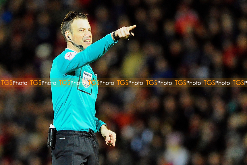 Referee Mark Clattenburg - AFC Bournemouth vs Derby County - Sky Bet Championship Football at the Goldsands Stadium, Bournemouth, Dorset - 10/02/15 - MANDATORY CREDIT: Denis Murphy/TGSPHOTO - Self billing applies where appropriate - contact@tgsphoto.co.uk - NO UNPAID USE