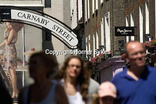 Carnaby Street. London W1 Uk.