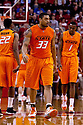12 February 2011: Oklahoma State Cowboys forward Marshall Moses #33 in the game against the Nebraska Cornhuskers at the Devaney Sports Center in Lincoln, Nebraska. Nebraska defeated Oklahoma State 65 to 54.