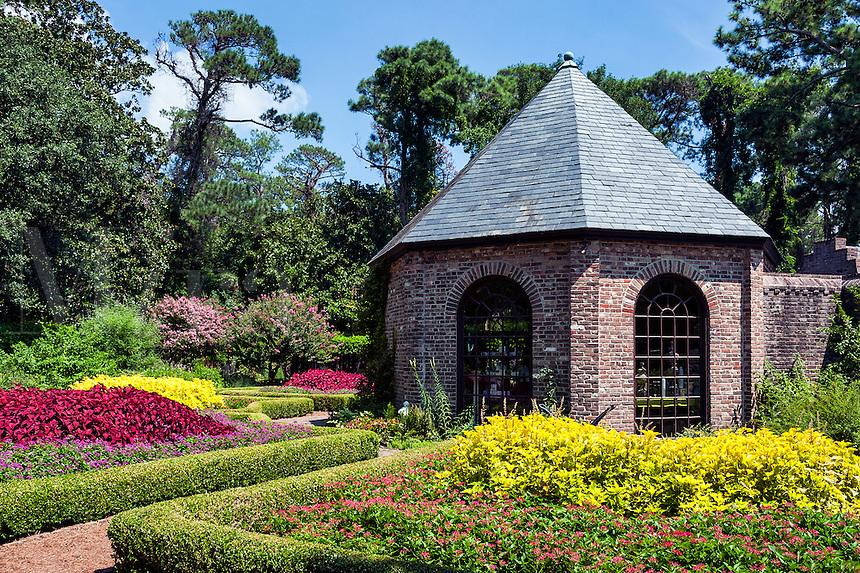 The Elizabethan Gardens, Roanoke Island, North Carolina, USA.