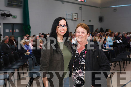Attending the concert are Mother & Daughter Maryann & Sinead Long from Knocknagoshel Fleadh By The Feale Frankie Gavin & De Danann in concert  last Sunday night in Coláiste Ide & Iosef