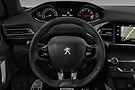 Car pictures of steering wheel view of a 2018 Peugeot 308 GT Line 5 Door Hatchback