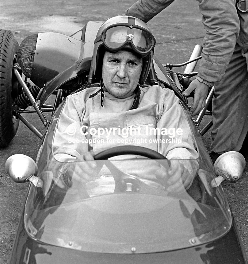 Malcolm Templeton, racing driver, N Ireland, September 1967, 196709000149b<br />