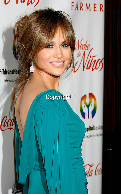 """BEVERLY HILLS, CA. - May 09: Jennifer Lopez arrives at the 3rd Annual """"Noche de Ninos"""" Gala at the Beverly Hilton Hotel on May 9, 2009 in Beverly Hills, California."""