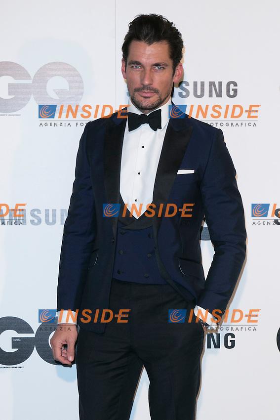 "David Gandy attends the ""GQ AWARDS"" at Palace Hotel in Madrid, Spain. November 3, 2014. (ALTERPHOTOS/Carlos Dafonte/Insidefoto)"