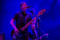SÃO PAULO, SP, 01.09.2018 - SHOW-SP - Lelo Zaneti, baixista da banda Skank durante show no Credicard Hall em São Paulo, na noite deste sábado, 01, (Foto: Anderson Lira/Brazil Photo Press)