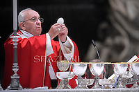 Pope Francis Mass for Cardinals who died during the year  at The Vatican.November 4, 2013