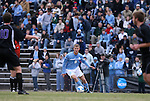 06 December 2008: North Carolina's Garry Lewis (8). The University of North Carolina Tar Heels defeated the Northwestern University Wildcats 1-0 at Fetzer Field in Chapel Hill, North Carolina in a NCAA Division I Men's Soccer tournament quarterfinal game.