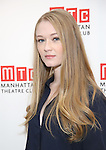 Lyla Porters-Follows attends the cast photo call for the Manhattan Theatre Club's New Broadway Production of 'The Little Foxes' at the MTC Rehearsal studios on February 27, 2017 in New York City.
