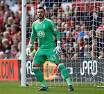 Jordan Smith of Nottingham Forest during the Championship match at the City Ground Stadium, Nottingham. Picture date 30th September 2017. Picture credit should read: Simon Bellis/Sportimage
