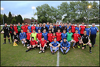 BNPS.co.uk (01202 558833)<br /> Pic: RichardCrease/BNPS<br /> <br /> Charity football match in aid of the Louis Ross Foundation held at Wimborne Town Football Club  with guest managers Eddie Howe and Graeme Souness taking charge of the  two teams made up of former school friends and football friends of Louis, 17, who died in a skiing accident in France.