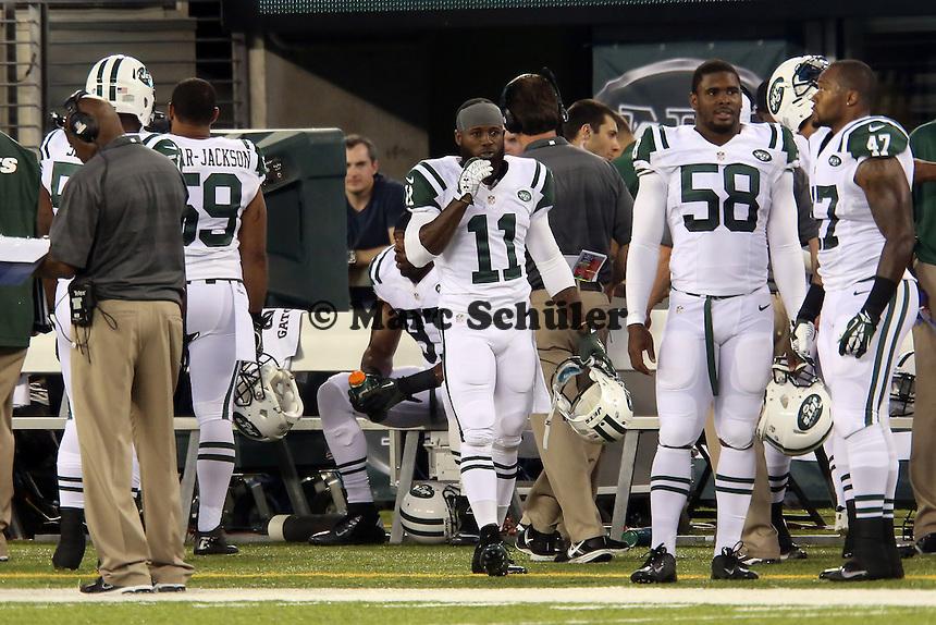 WR Jeremy Kerley (Jets)  - New York Jets vs. Jacksonville Jaguars, Met Life Stadium