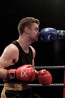 Sheffield Varsity Boxing 2017 Sam Smailes Team Hallam v Henry Curnow Uni of Sheffield