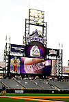 8 September 2006: Coors Field with Colorado Rockies electronic scoreboard - interior prior to game. The Rockies defeated the Nationals 11-8 at Coors Field in Denver, Colorado...Mandatory Photo Credit: Ed Wolfstein.