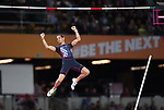 Renaud LAVILLENIE (FRA) in the mens pole vault final. IAAF world athletics championships. London Olympic stadium. Queen Elizabeth Olympic park. Stratford. London. UK. 08/08/2017. ~ MANDATORY CREDIT Garry Bowden/SIPPA - NO UNAUTHORISED USE - +44 7837 394578