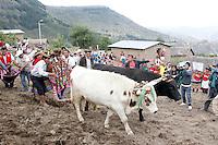 AYACUCHO,PERU mayo 8 2013<br /> Mandatario presidi&oacute; en la Plaza de Armas de Pampa Cangallo la ceremonia de inauguraci&oacute;n de obras de electrificaci&oacute;n rural en beneficio de diversas comunidades y centros poblados de la Provincia de Cangallo. <br /> <br /> Andina&copy;/NortePhoto