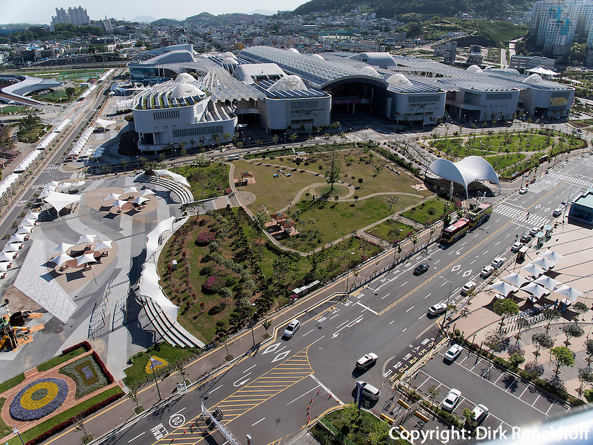 Expo-Gel&auml;nde In Yeosu, Provinz Jeollanam-do, S&uuml;dkorea, Asien<br />  Expo Compound  in Yeosu, province Jeollanam-do, South Korea, Asia